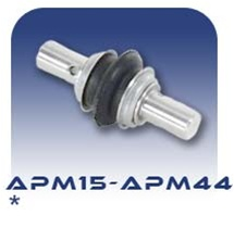 American Series APM15/APM22/APM33/APM44 Pinned Flex Joint - Stainless Steel and Buna Nitrile