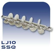 LJ10 Auger - Stainless Steel