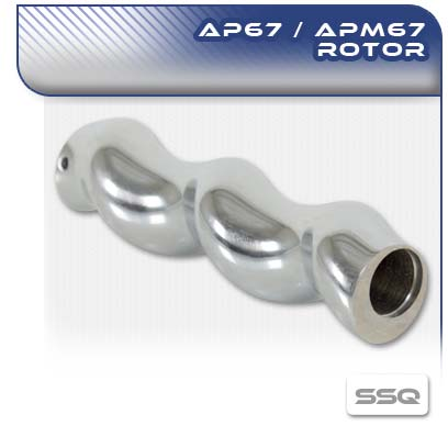AP67 and APM67 SSQ Pinned Pump Rotor