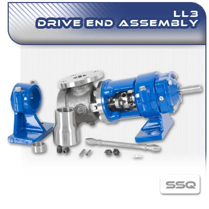 LL3 SSQ PC Pump Drive End Assembly