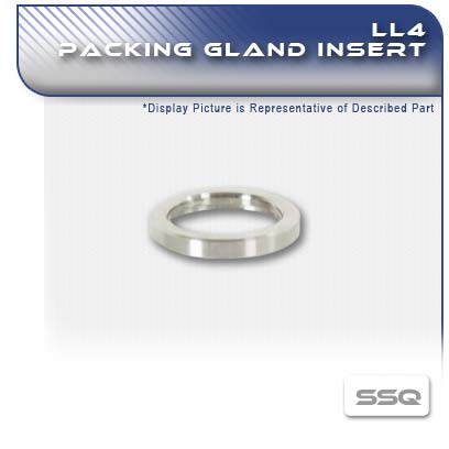 LL4 PC Pump Packing Gland Insert