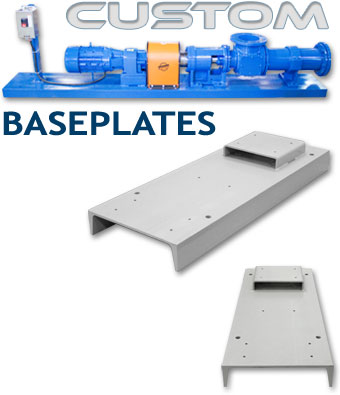 Custom Pump Baseplate