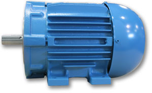 Pump Motor Side View