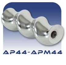 American Series APM44 Pinned Pump Rotor - Chrome Plated Stainless Steel
