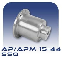 American Series APM15/APM22/APM33/APM44 SSQ Suction Case - Stainless Steel