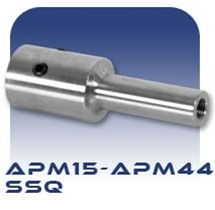 American Series APM 15-44 SSQ Threaded Stub Shaft, Stainless Steel