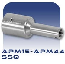 American Series APM15/APM22/APM33/APM44 SSQ Pinned Stub Shaft, Stainless Steel