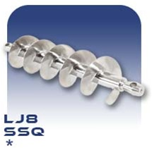 LJ8 Auger - Stainless Steel