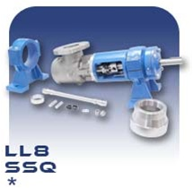 LL8 PC Pump Drive End Assembly - Stainless Steel