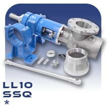 LL10 PC Pump Drive End Assembly with Discharge - Stainless Steel