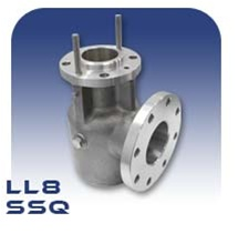LL8 PC Pump Suction Body - Stainless Steel
