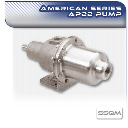 American AP22 SSQM Long Coupled Wobble Stator Pump