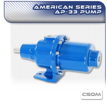American AP33 CSQM Long Coupled Wobble Stator Pump