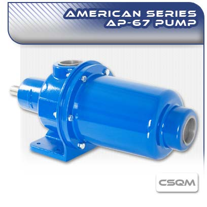 American AP67 CSQM Long Coupled Wobble Stator Pump