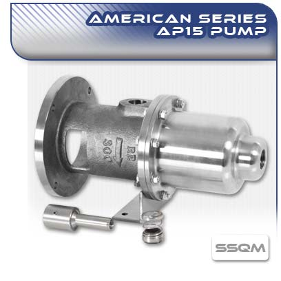 American APM15 SSQM Close Coupled Wobble Stator Pump