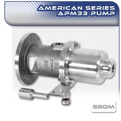 American APM33 SSQM Close Coupled Wobble Stator Pump
