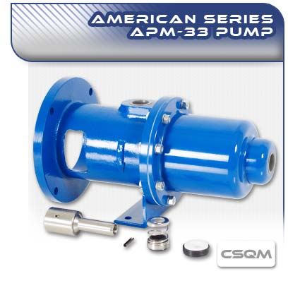 APM33 CSQM Close Coupled Wobble Stator Pump