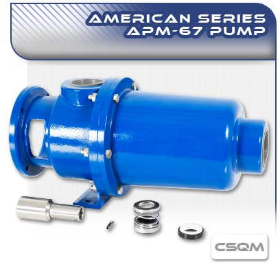 APM67 CSQM Close Coupled Wobble Stator Pump