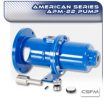 APM22 CSFM Close Coupled Wobble Stator Pump