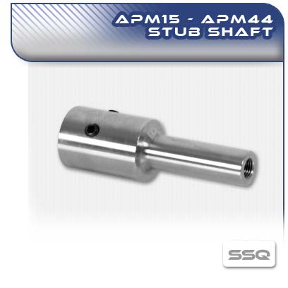 APM 15-44 Threaded Stub Shaft