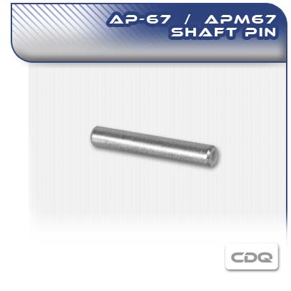 APM67 and AP67 Shaft Pin