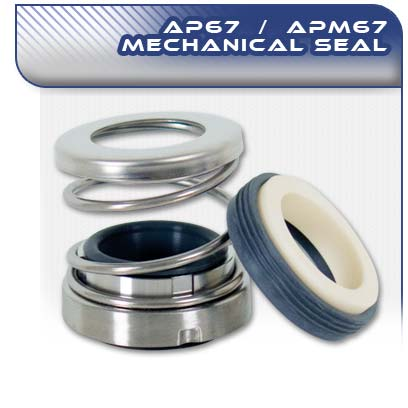 AP67/APM67 Standard Mechanical Pump Seal