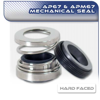 AP67/APM67 Hard Face Mechanical Pump Seal