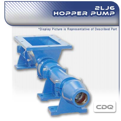 2LJ6 CDQ - 2 Stage Progressive Cavity Hopper Pump
