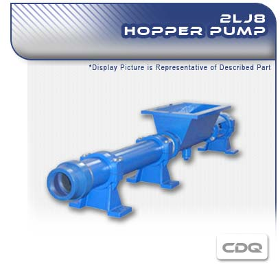 2LJ8 CDQ - 2 Stage PC Hopper Pump