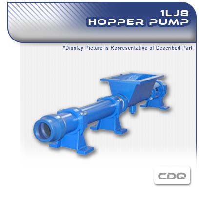 1LJ8 CDQ - Single Stage Hopper Pump