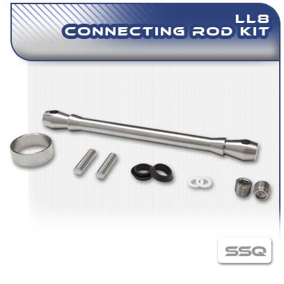 LL8 Stainless Steel Con Rod Kit
