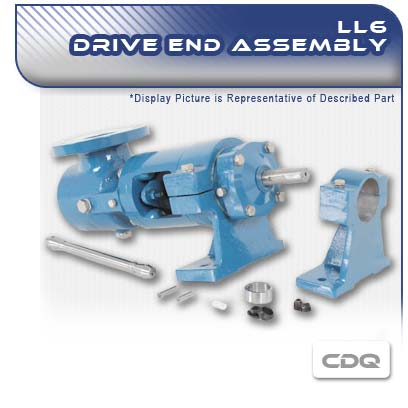 LL6 CDQ Drive PC Pump End Assembly
