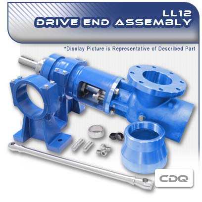 LL12 CDQ PC Pump Drive End Assembly