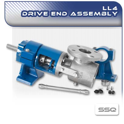 LL4 SSQ PC Pump Drive End Assembly