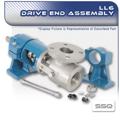 LL6 SSQ PC Pump Drive End Assembly