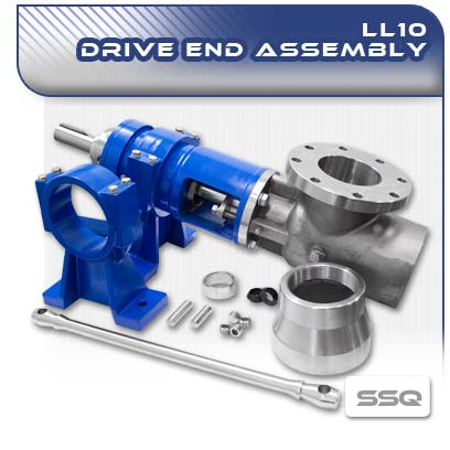 LL10 SSQ PC Pump Drive End Assembly