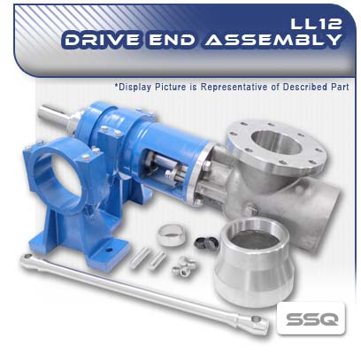 LL12 SSQ PC Pump Drive End Assembly
