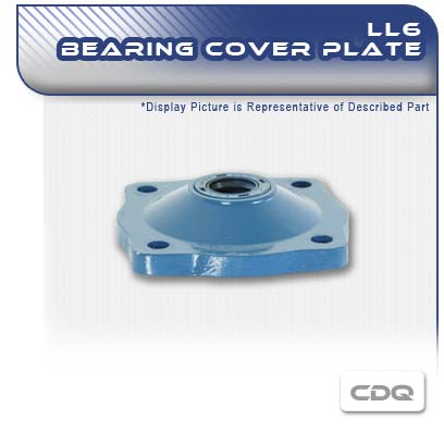 LL6 CDQ PC Pump Bearing Cover Plate