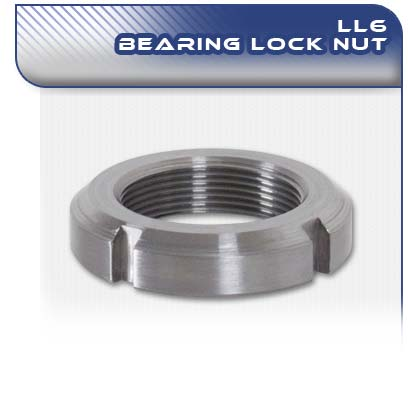 LL6 PC Pump Bearing Lock Nut