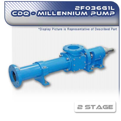 2F036G1L CDQ - Two Stage Heavy-Duty Progressive Cavity Pump