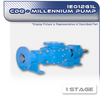 1E012G1L CDQ - Single Stage Heavy-Duty Progressive Cavity Pump
