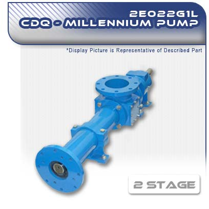 2E022G1L CDQ - Two Stage Heavy-Duty Progressive Cavity Pump